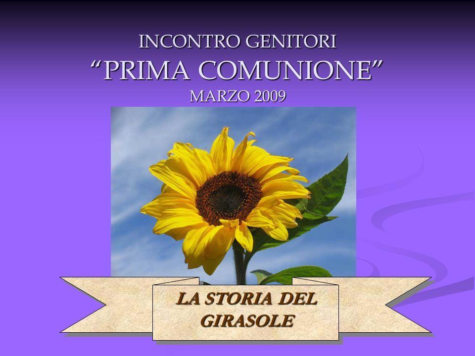 INCONTRO GENITORI PRIMA COMUNIONE MARZO 2009