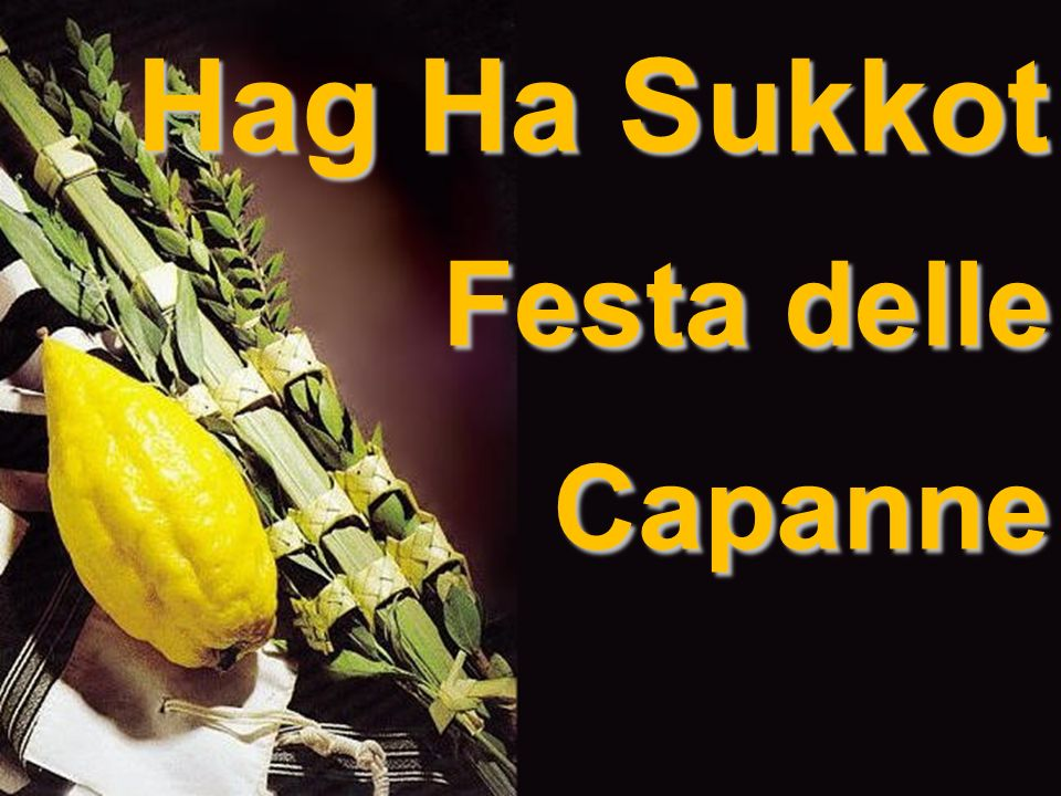 Hag Ha Sukkot Festa delle Capanne