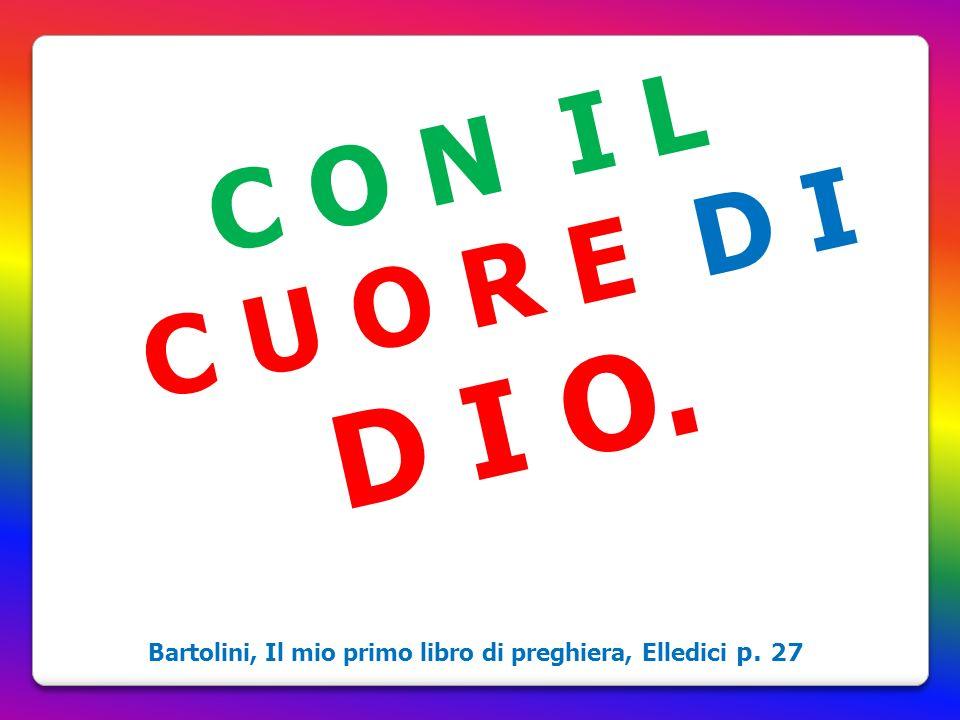 Bartolini, Il mio primo libro di preghiera, Elledici p. 27