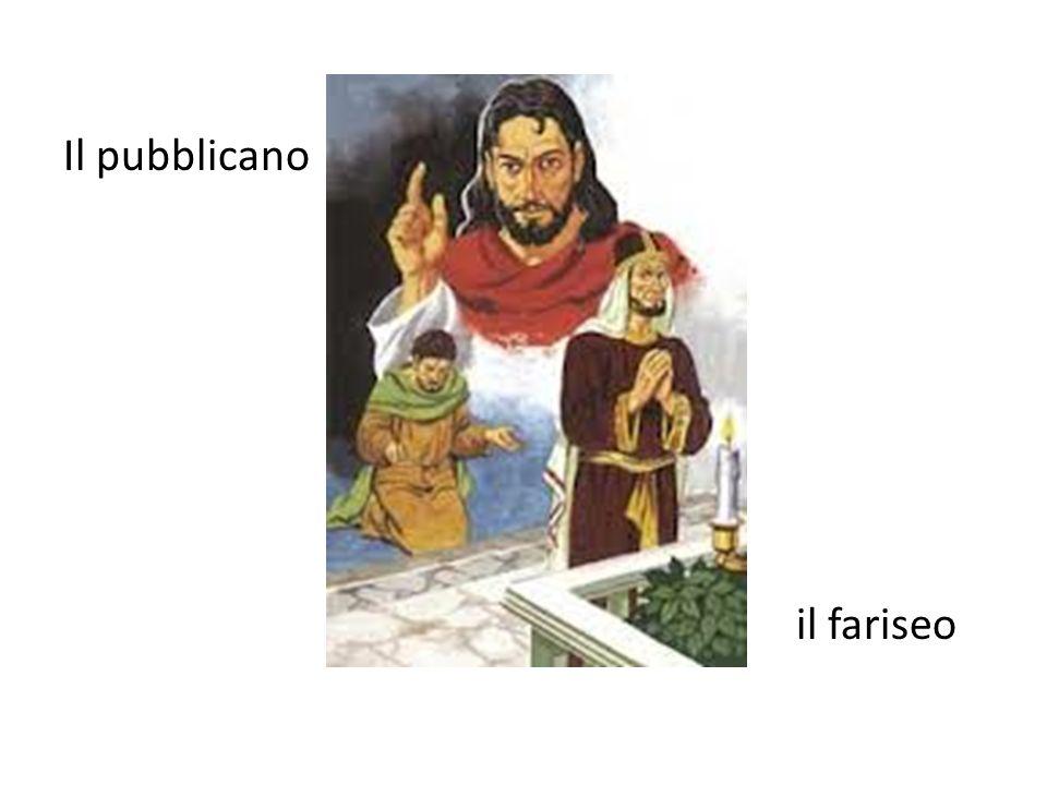 Il pubblicano il fariseo
