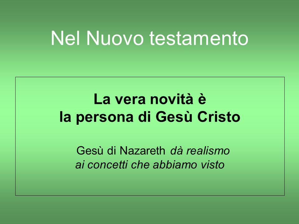 la persona di Gesù Cristo