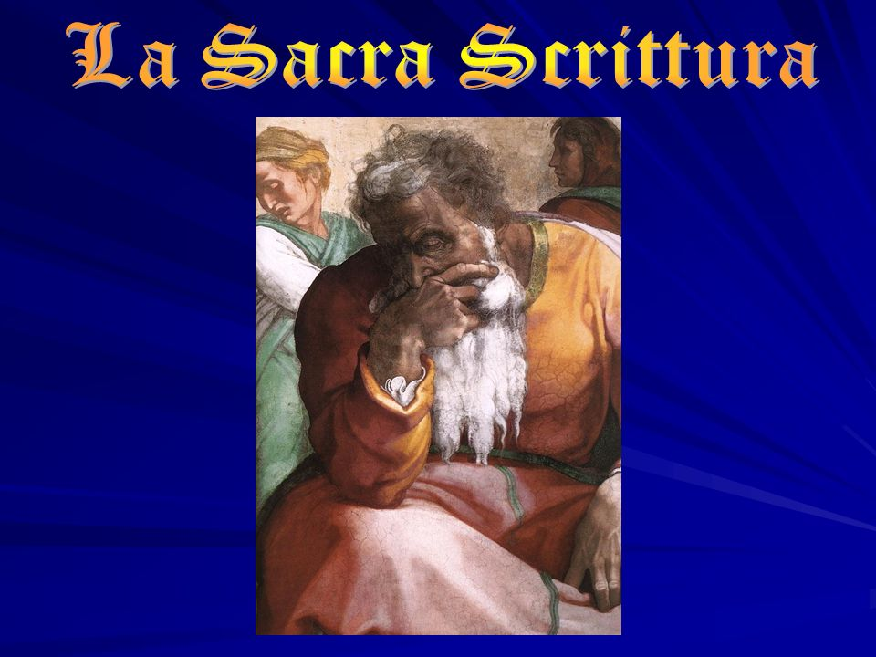 La Sacra Scrittura