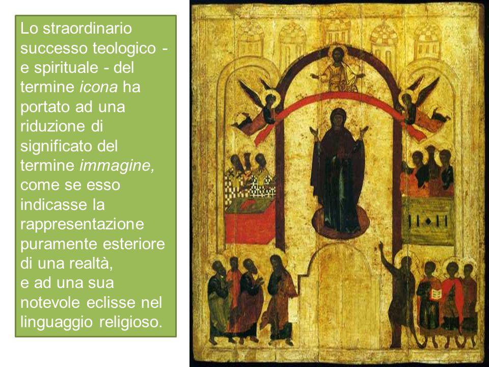 e ad una sua notevole eclisse nel linguaggio religioso.