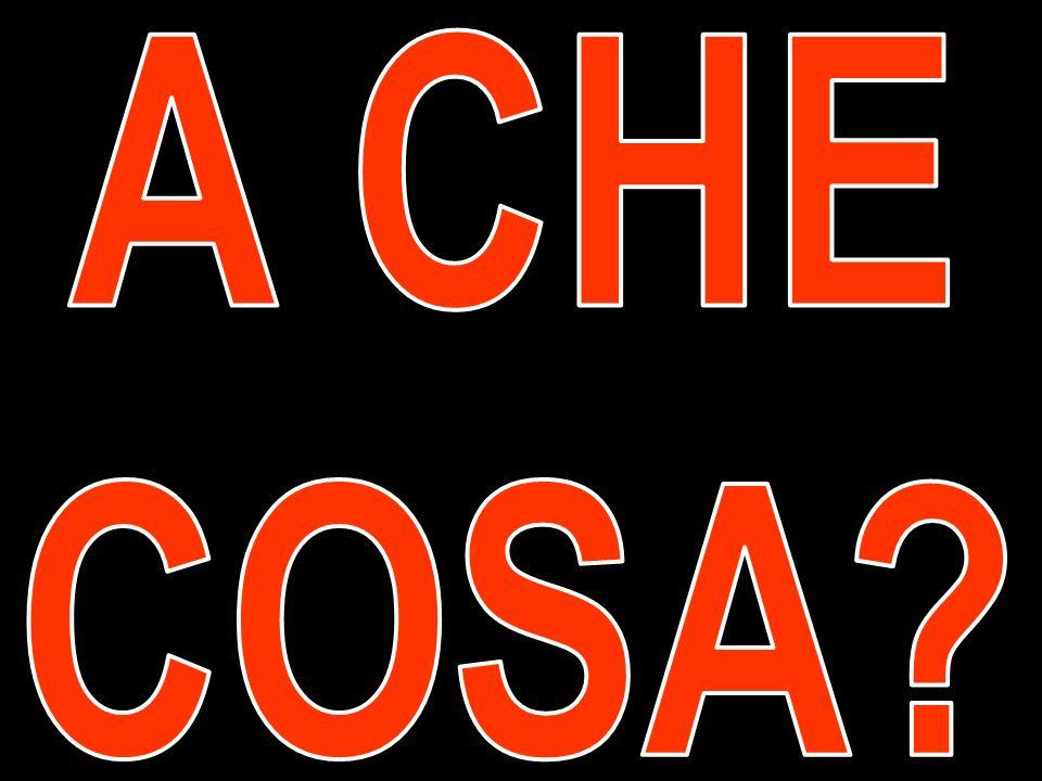 A CHE COSA