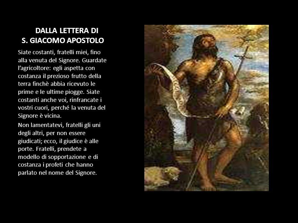 DADALLA LETTERA DI S. GIACOMO APOSTOLO