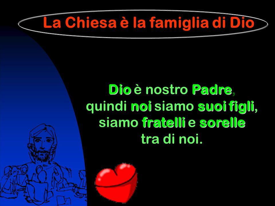 La Chiesa è la famiglia di Dio