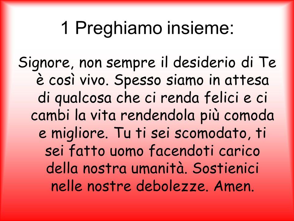 1 Preghiamo insieme: