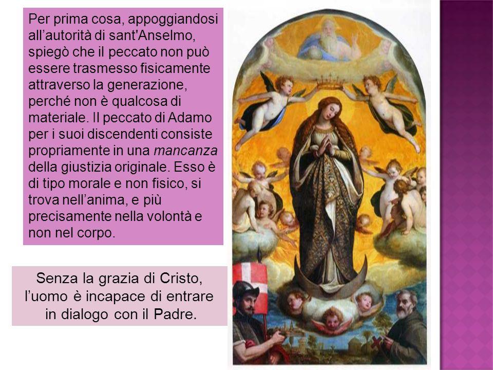 Senza la grazia di Cristo, l'uomo è incapace di entrare