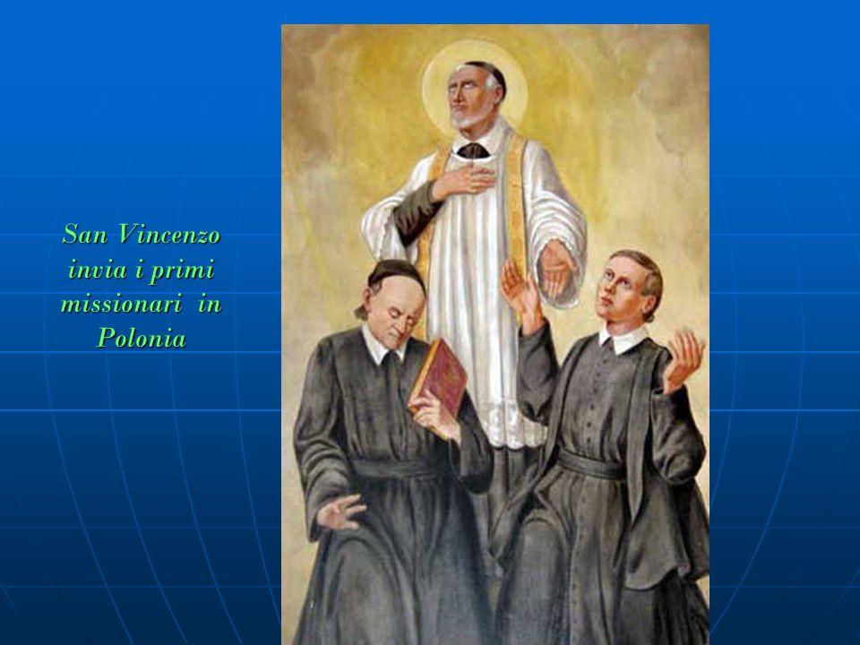 San Vincenzo invia i primi missionari in Polonia