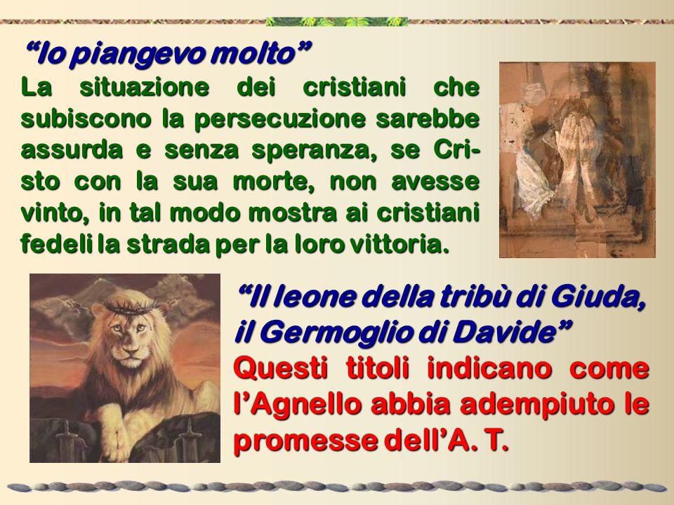 Il leone della tribù di Giuda, il Germoglio di Davide