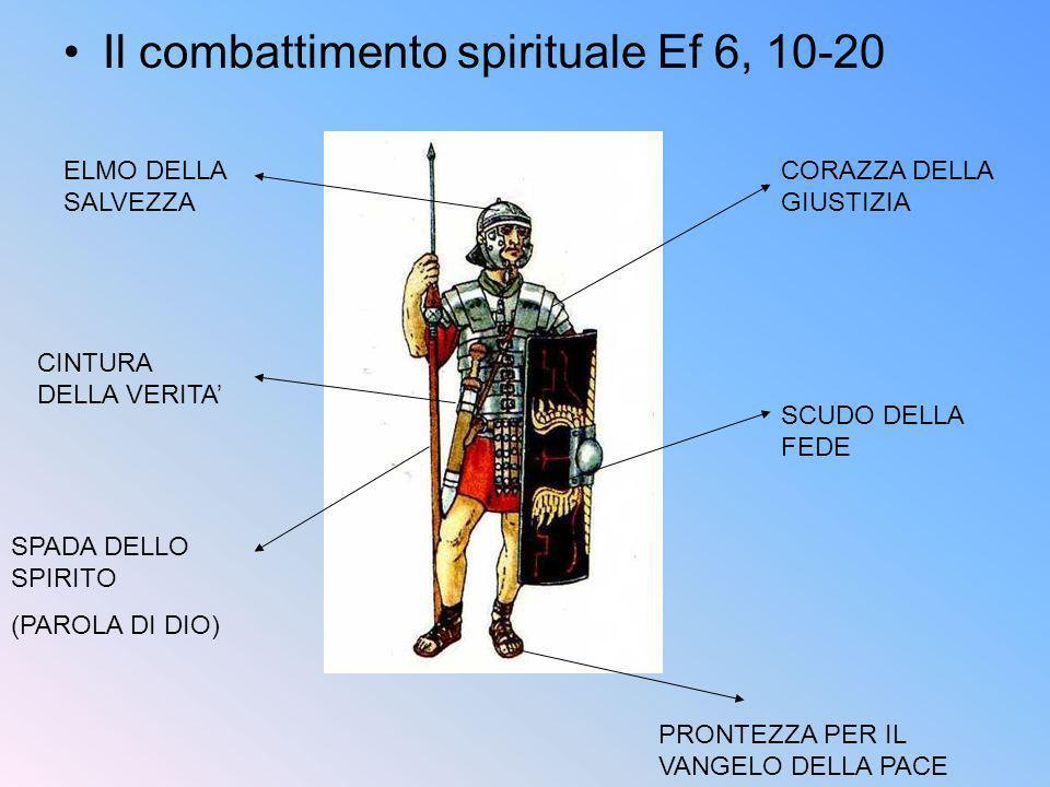 Il combattimento spirituale Ef 6, 10-20