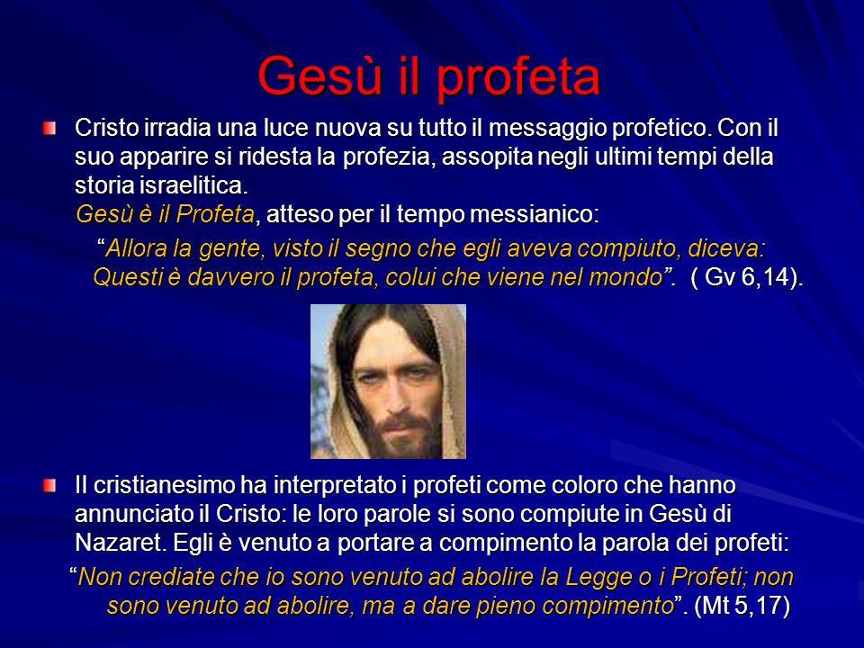 Gesù il profeta