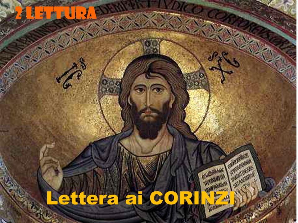 2 LETTURA Lettera ai CORINZI