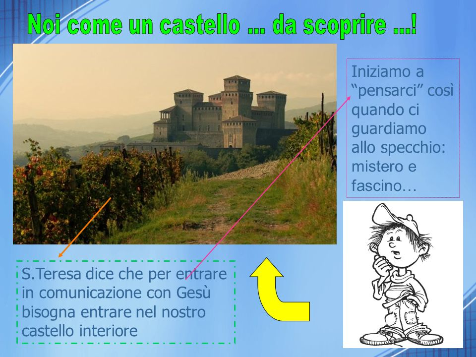 Noi come un castello ... da scoprire ...!