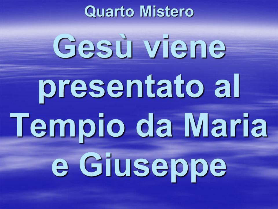 Gesù viene presentato al Tempio da Maria e Giuseppe