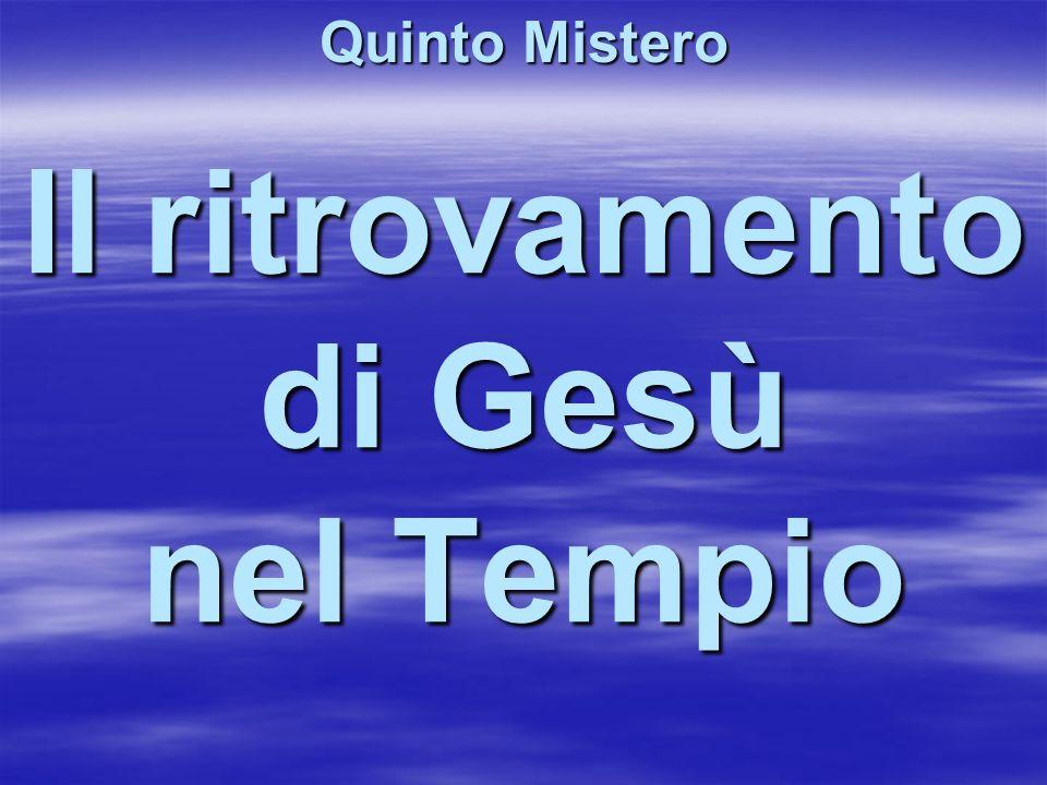 Il ritrovamento di Gesù nel Tempio
