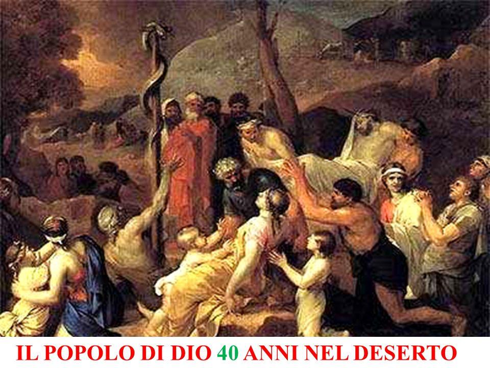 IL POPOLO DI DIO 40 ANNI NEL DESERTO