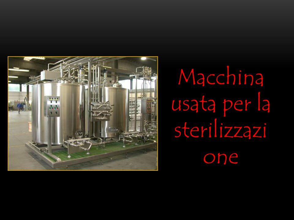 Macchina usata per la sterilizzazione