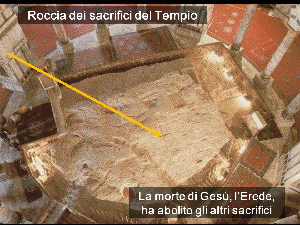 Roccia dei sacrifici del Tempio