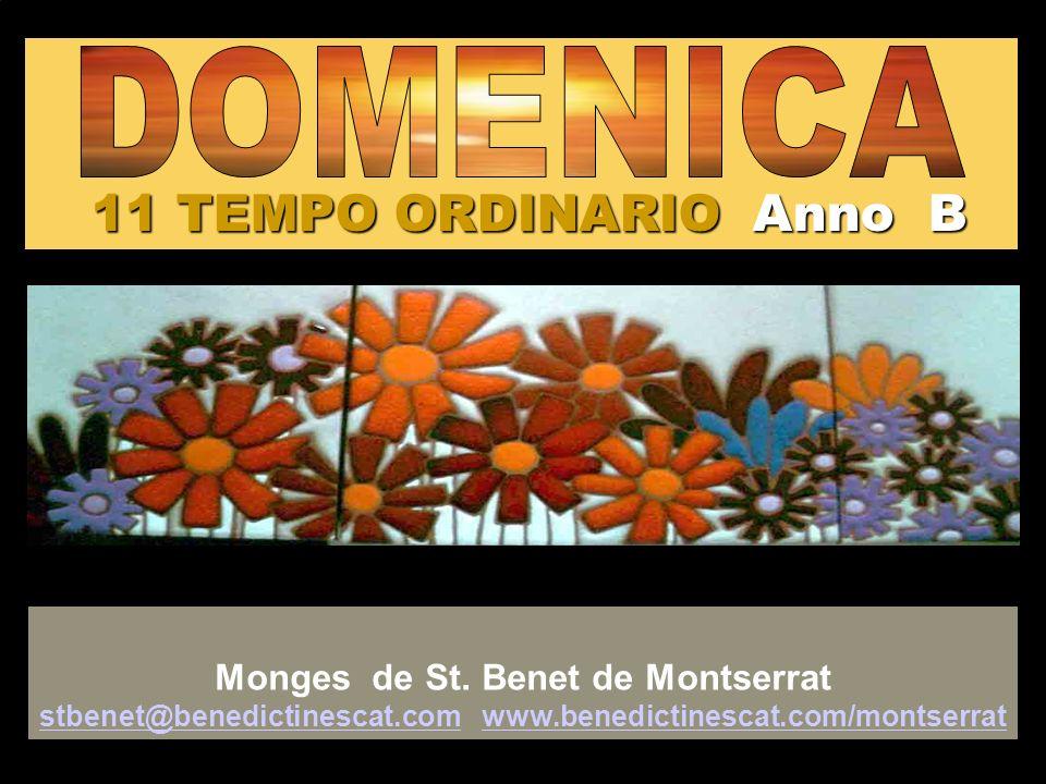 11 TEMPO ORDINARIO Anno B DOMENICA