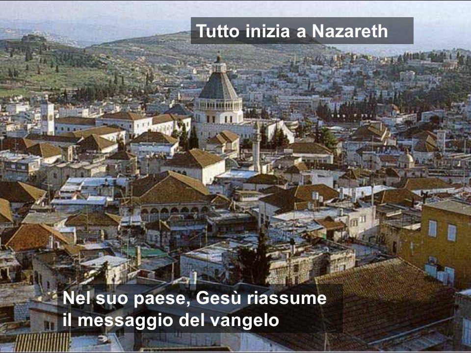 Tutto inizia a Nazareth