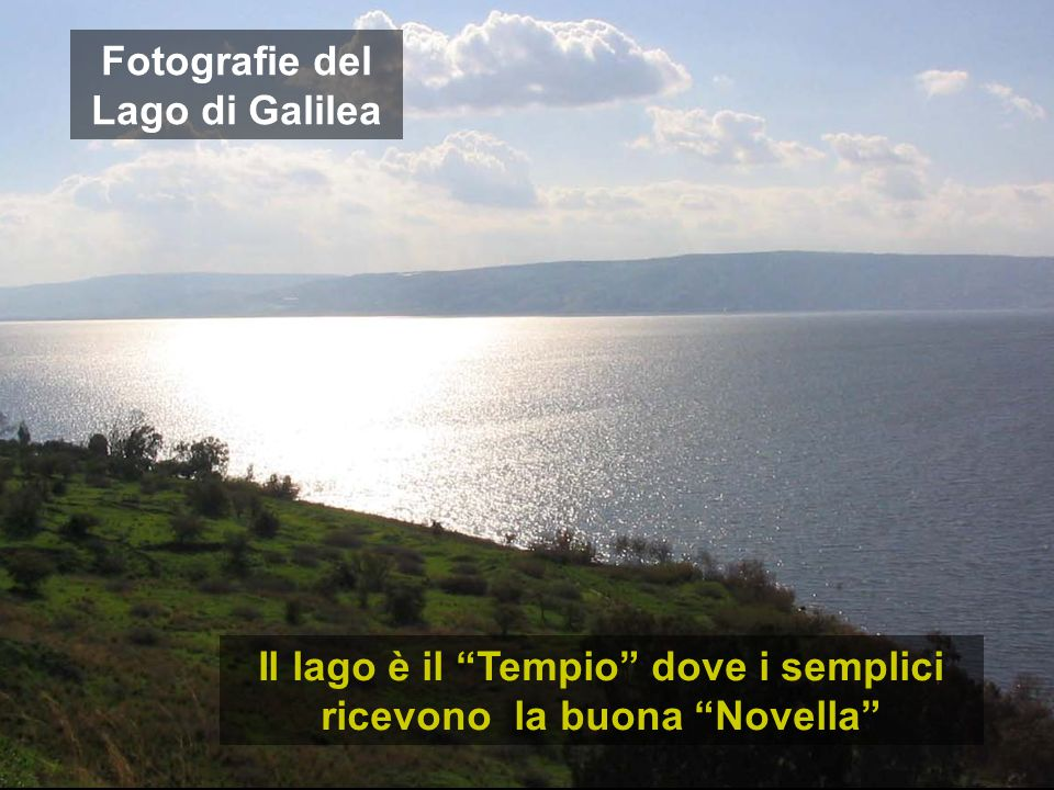 Fotografie del Lago di Galilea