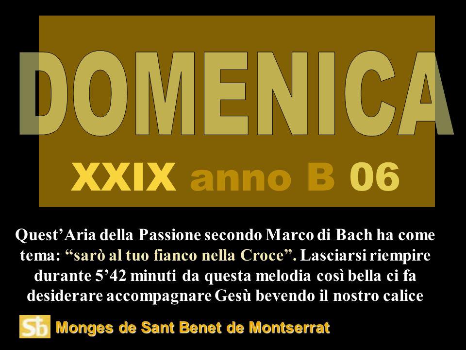 DOMENICA XXIX anno B 06.