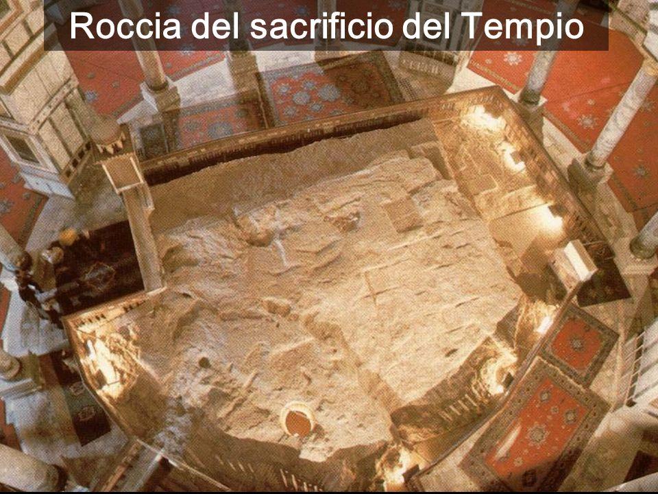 Roccia del sacrificio del Tempio