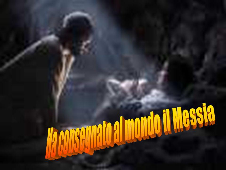 Ha consegnato al mondo il Messia