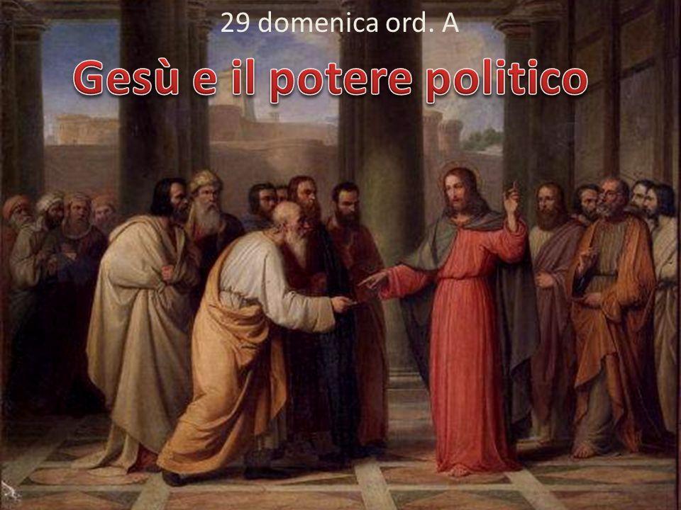 Gesù e il potere politico