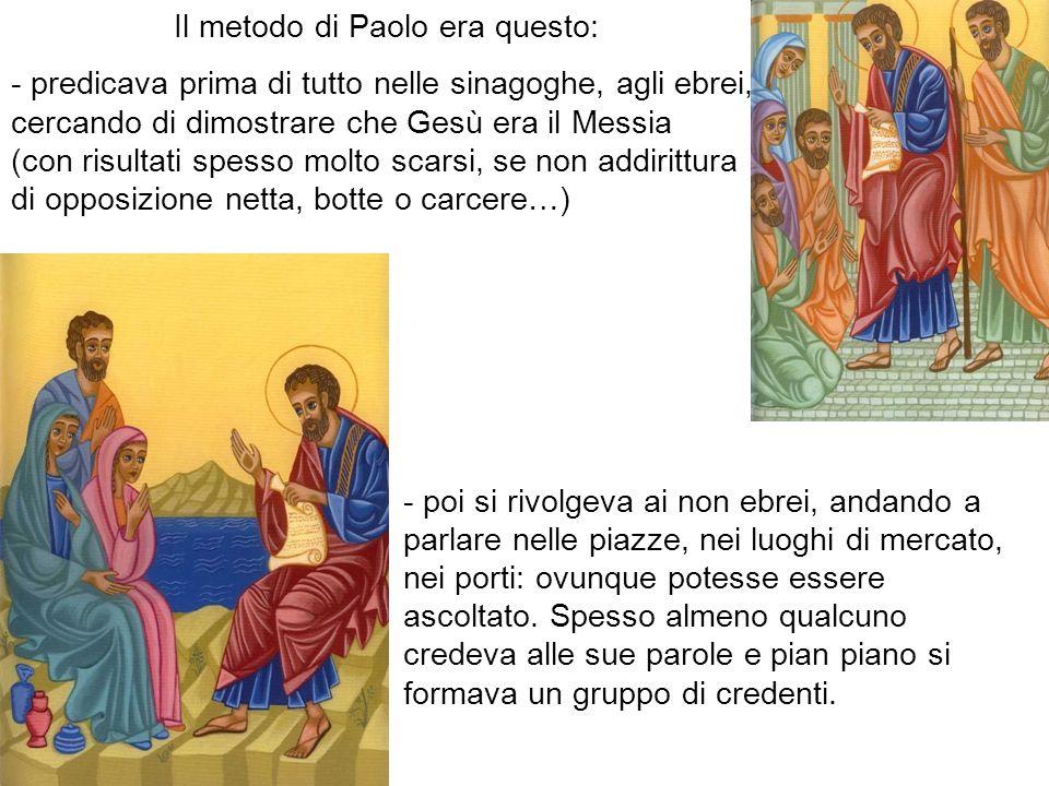 Il metodo di Paolo era questo: