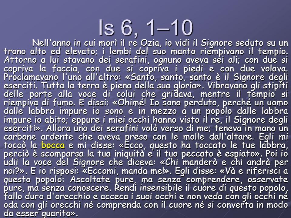 Is 6, 1–10