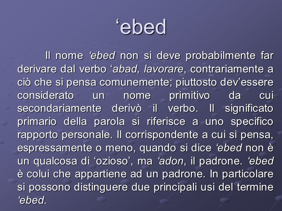 'ebed