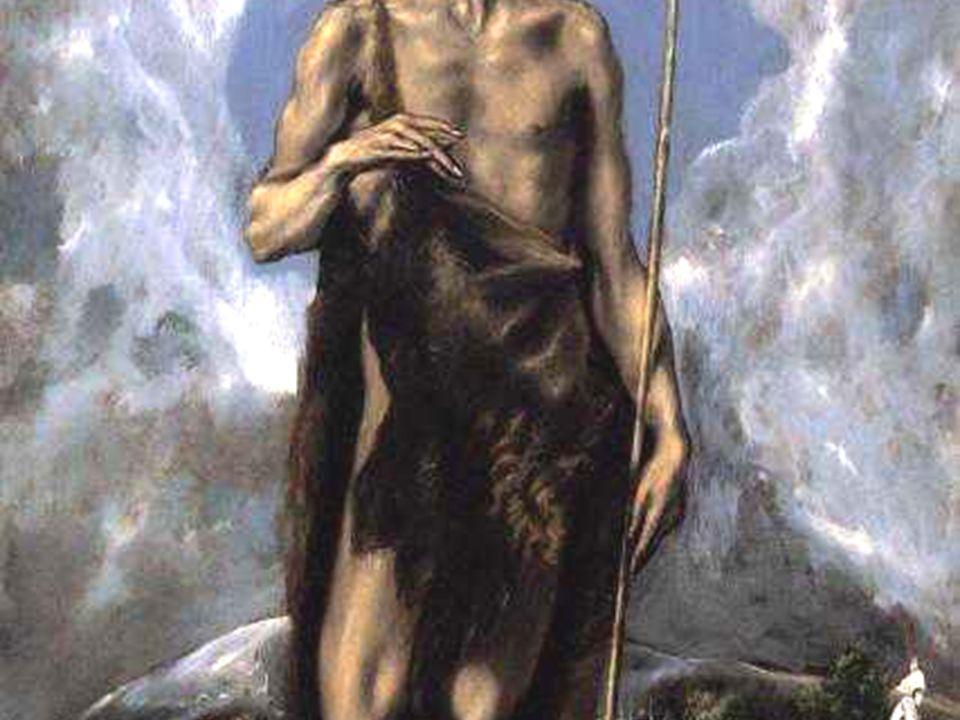 Giovanni era vestito di peli di cammello, con una cintura di pelle attorno ai fianchi,