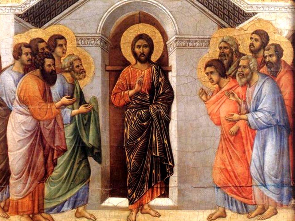venne Gesù, si fermò in mezzo a loro e disse: Pace a voi! .