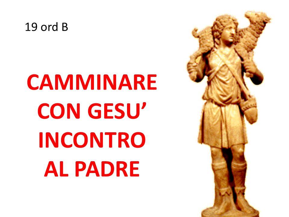 CAMMINARE CON GESU' INCONTRO AL PADRE