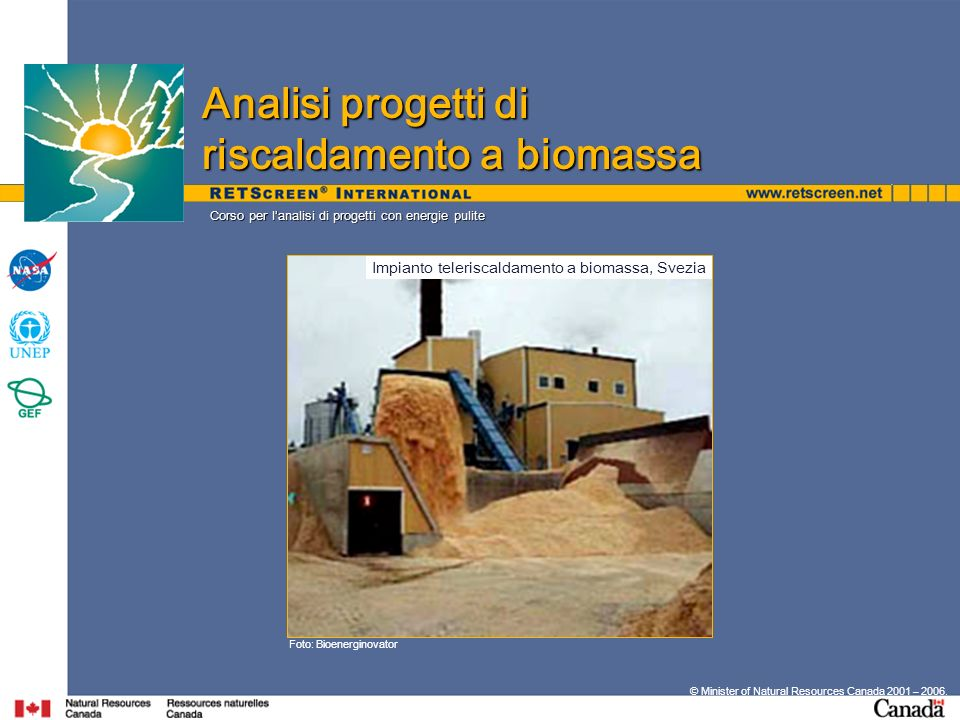Impianto teleriscaldamento a biomassa, Svezia