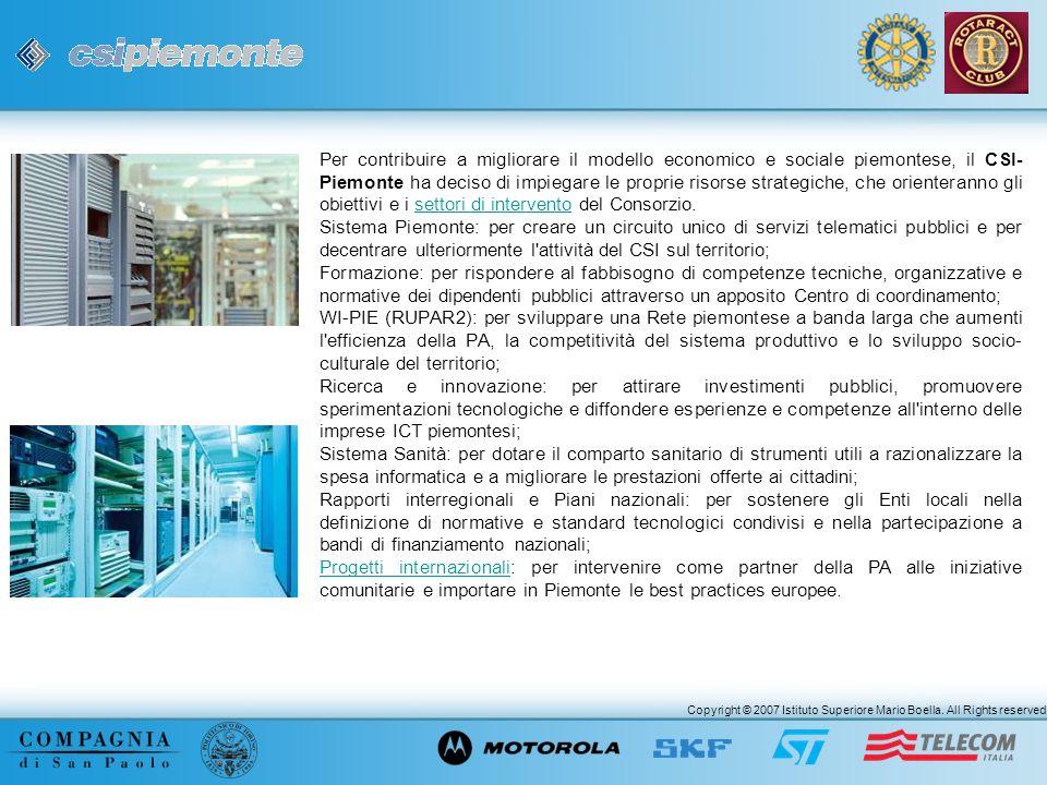 Per contribuire a migliorare il modello economico e sociale piemontese, il CSI-Piemonte ha deciso di impiegare le proprie risorse strategiche, che orienteranno gli obiettivi e i settori di intervento del Consorzio.