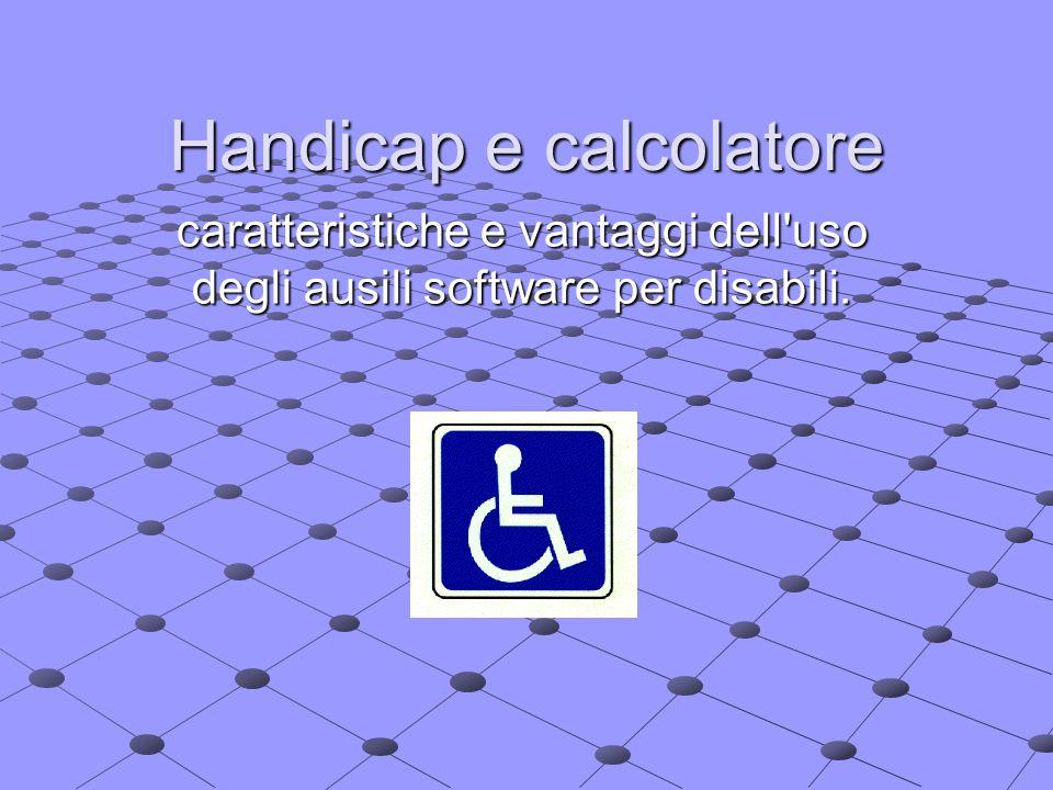 Handicap e calcolatore