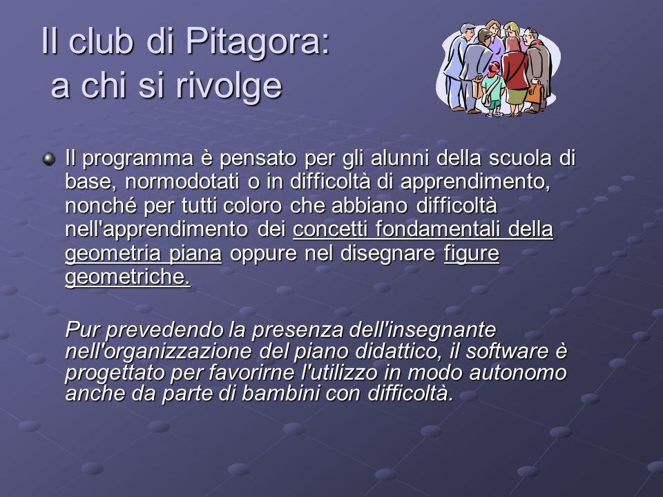 Il club di Pitagora: a chi si rivolge