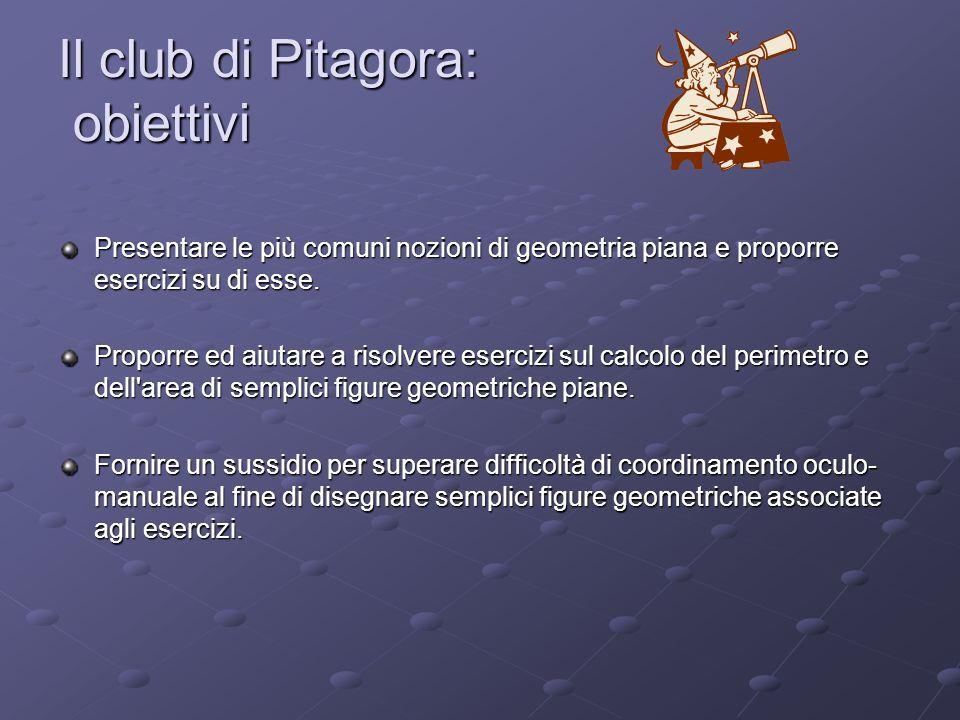 Il club di Pitagora: obiettivi