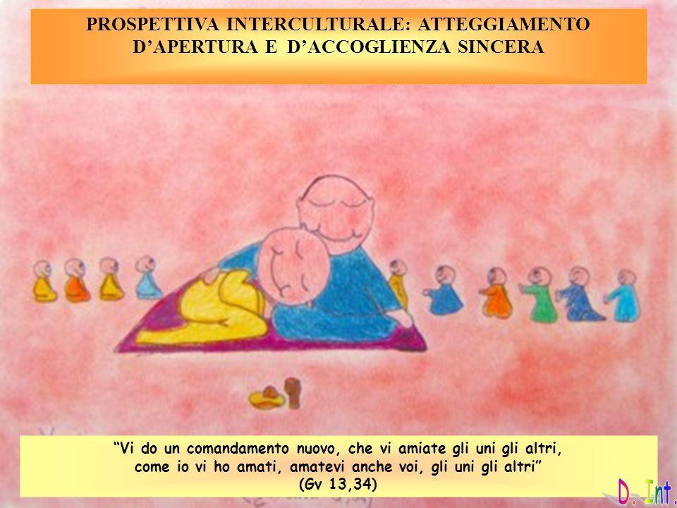 PROSPETTIVA INTERCULTURALE: ATTEGGIAMENTO D'APERTURA E D'ACCOGLIENZA SINCERA