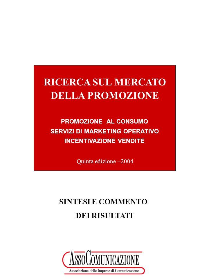 SERVIZI DI MARKETING OPERATIVO INCENTIVAZIONE VENDITE