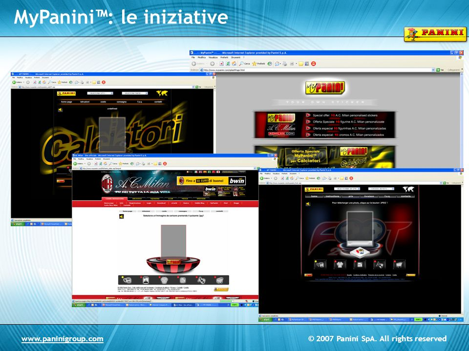 MyPanini™: le iniziative