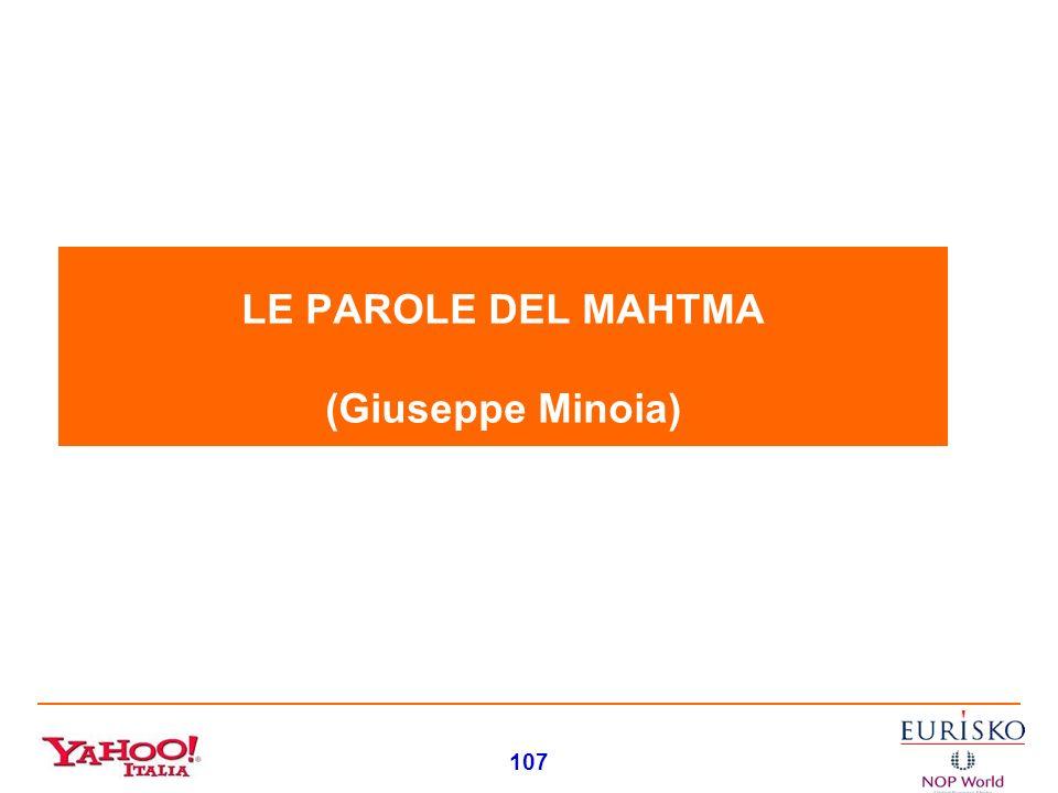 LE PAROLE DEL MAHTMA (Giuseppe Minoia)