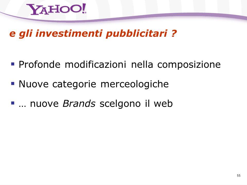 e gli investimenti pubblicitari
