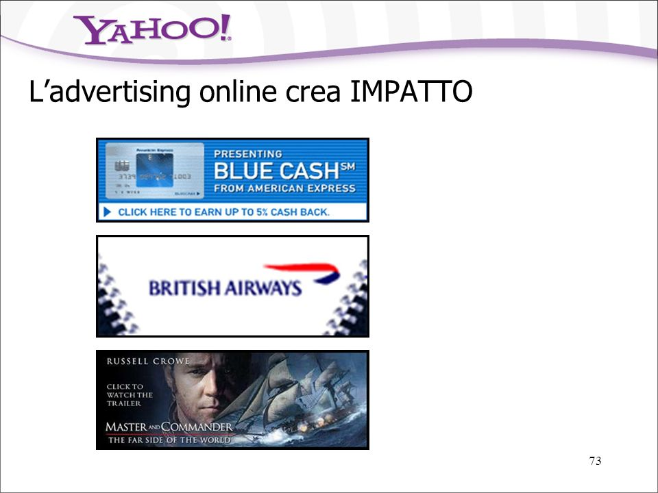 L'advertising online crea IMPATTO
