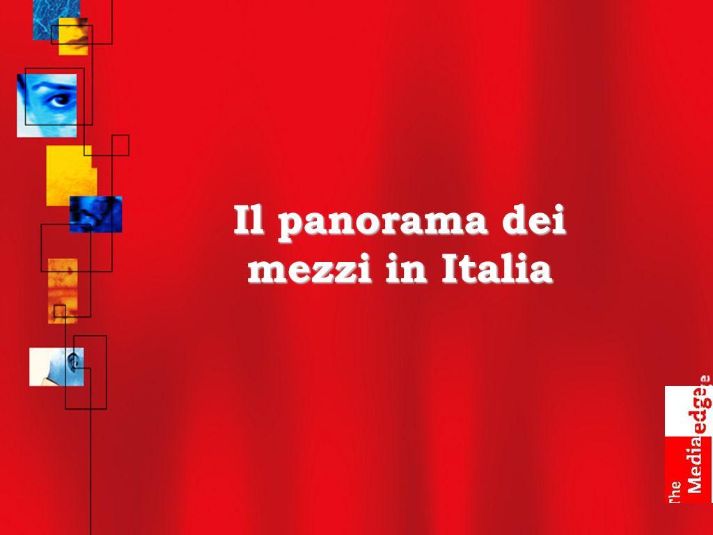 Il panorama dei mezzi in Italia