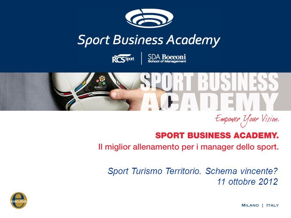 Sport Turismo Territorio. Schema vincente