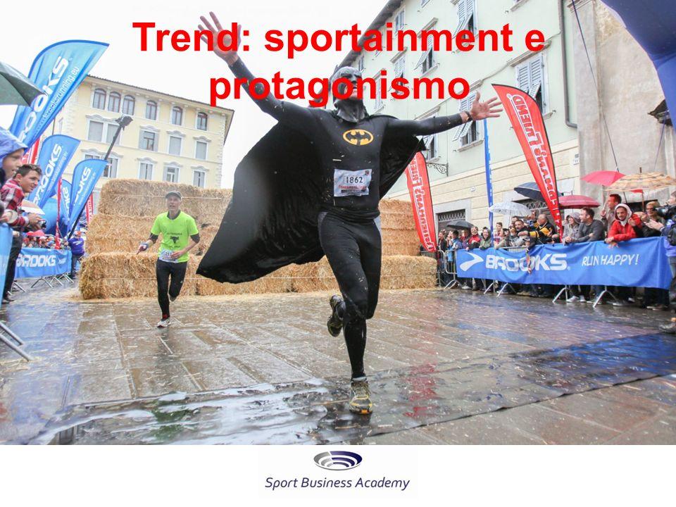 Trend: sportainment e protagonismo
